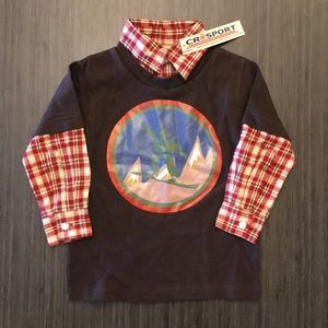 Other - Crosport Plaid Snowboard Shirt